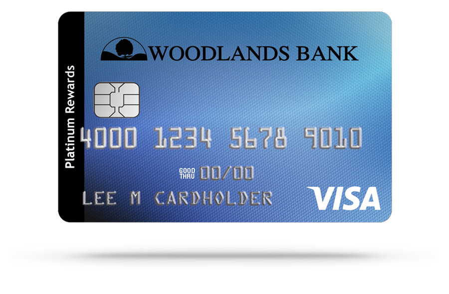 Woodlands Bank Visa Rewards Platinum Credit Card