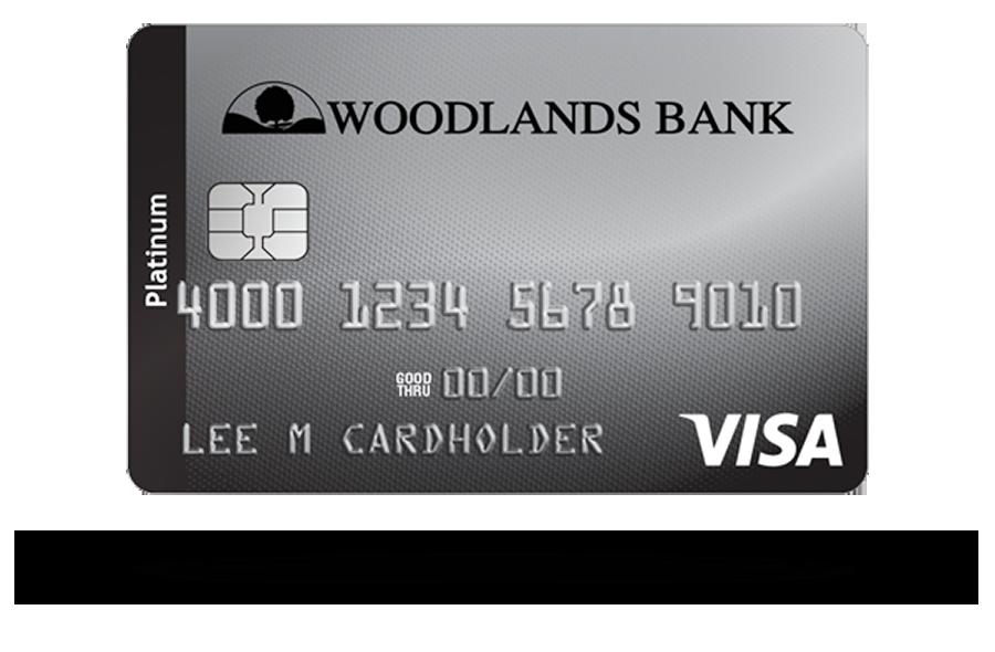 Woodlands Bank Visa Platinum Credit Card